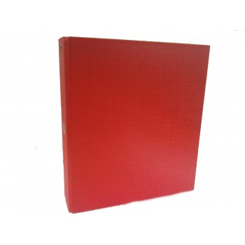 Carpeta con 3 aros forrada de fibra color