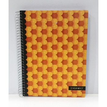 Cuaderno Igneo formal 16x21...