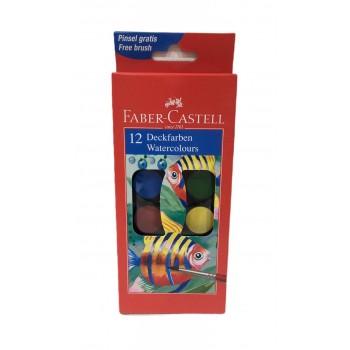 Acuarelas Faber Castell x12