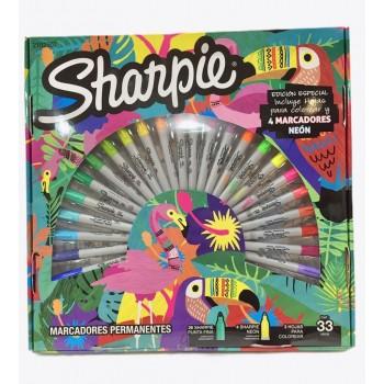 Marcador Sharpie x30