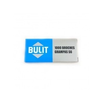 Broches Bulit N°6 x1000
