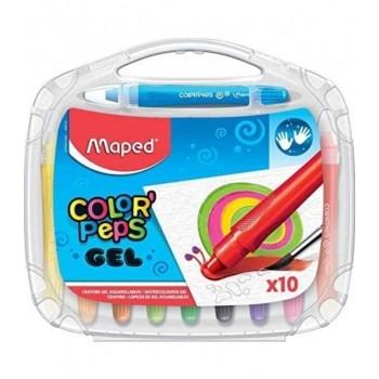 Crayones Maped gel x10 en...